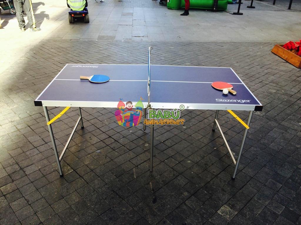 Ping Pong con Babu Animaciones.