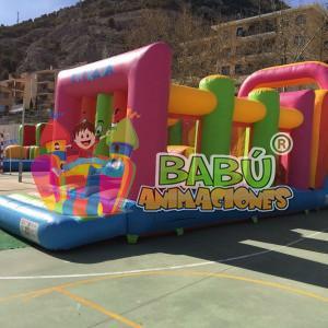 Hinchable Pista Americana para fiestas. Eventos con hinchables Alicante.