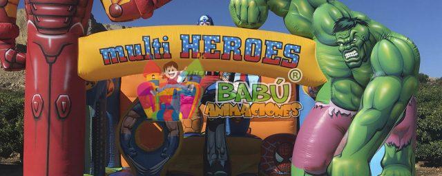 Hinchables de Super Héroes