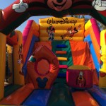 Castillo hinchable de Walt Disney