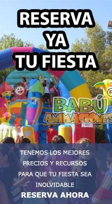 Contratación Hinchables en Alicante. Fiestas Acuaticas