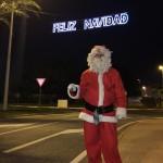 Papá Noel el día de Nochebuena