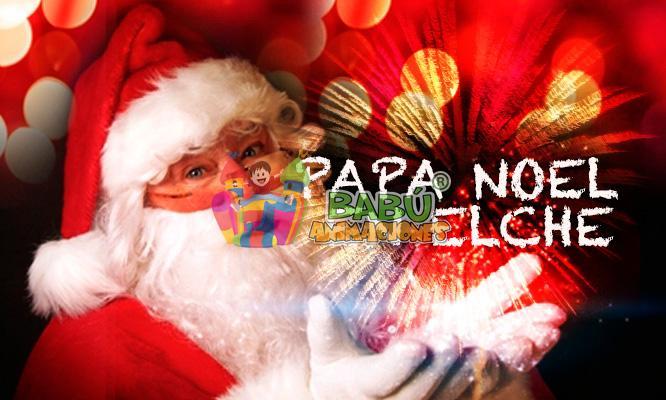 Papa Noel en Elche