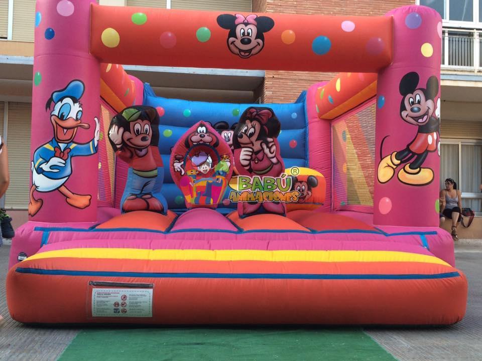 Detalles hinchable para cumplaños Disney
