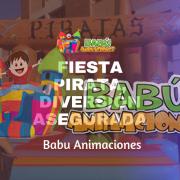 Fiesta Pirata con Babu Animaciones