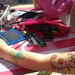 Taller de maquillaje y tatoos. Animaciones infantiles.