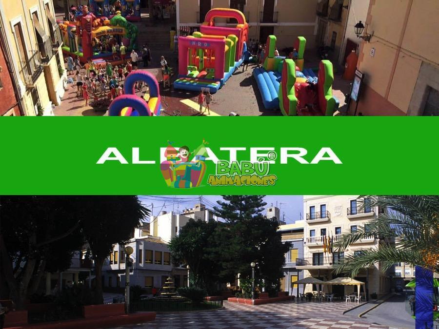 Castillos hinchables en Albatera