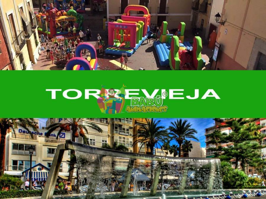 Castillos Hinchables en Torrevieja