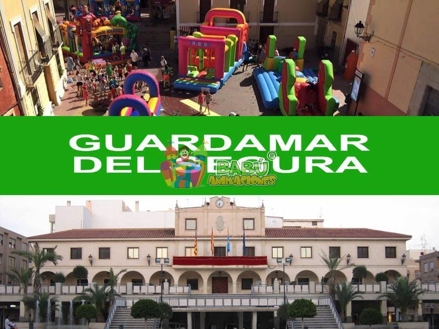 Castillos hinchables en Guardamar del Segura