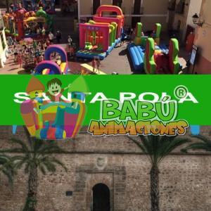 Castillos hinchables en Santa Pola