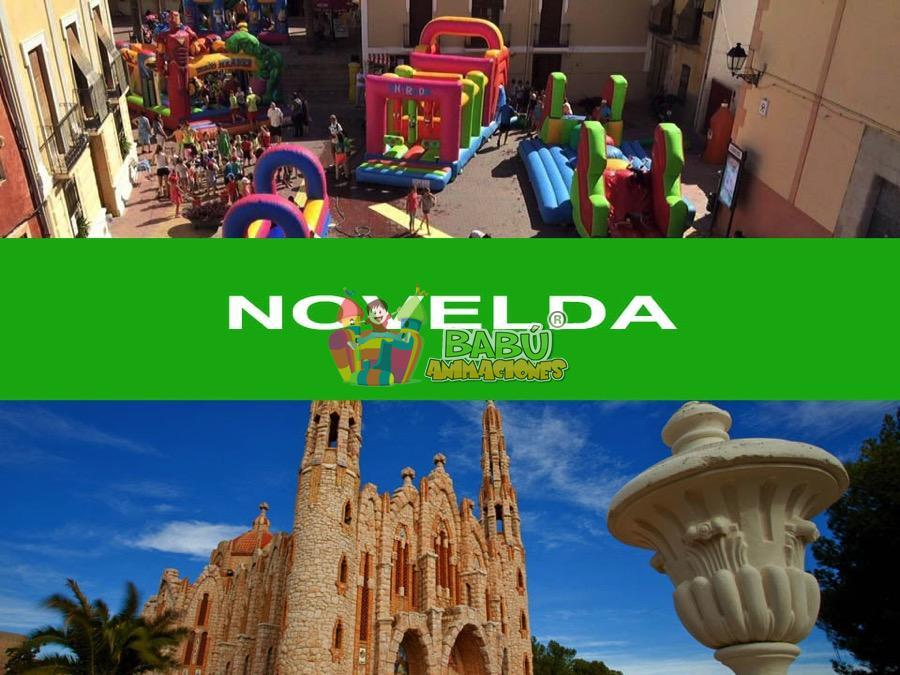Castillos Hinchables en Novelda