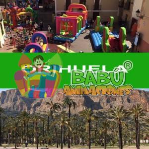 Castillos hinchables en Orihuela