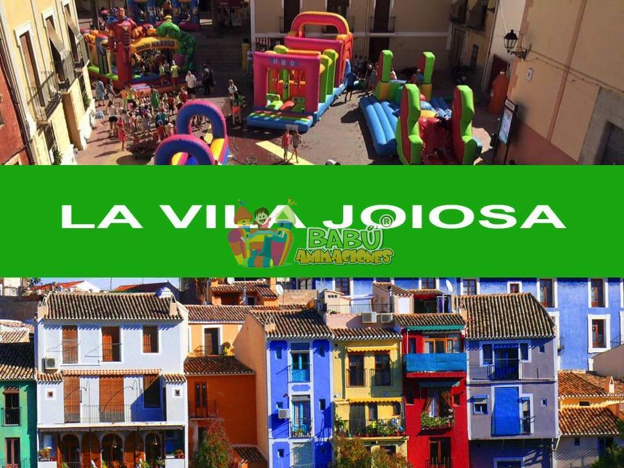 Castillos Hinchables en La Vila Joiosa con Babu Animaciones.