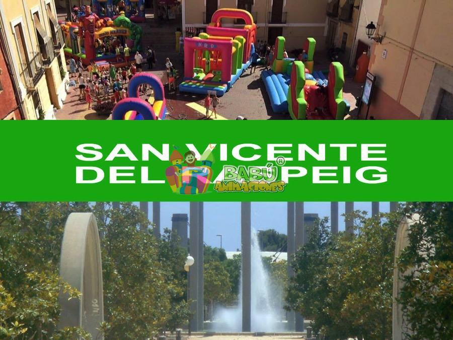 Castillos hinchables en san vicente del raspeig alquiler - Alquiler de pisos en san vicente del raspeig ...