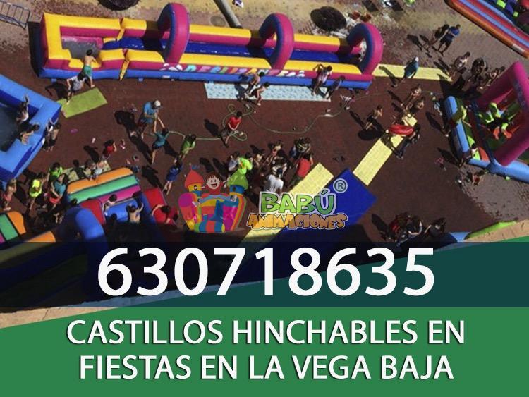 Castillos Hinchables en la Vega Baja.