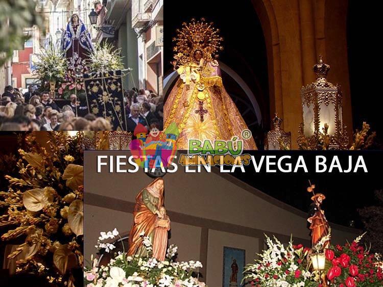 Fiestas con Hinchables en la Vega Baja