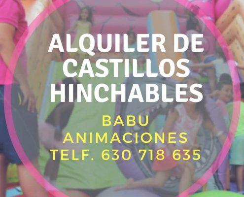 Alquiler de Hinchables Alicante.