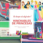 HInchable de princesas Babu Animaciones.