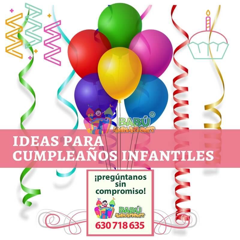 Ideas para cumpleaños infantiles. Fiestas temáticas infantiles en ...