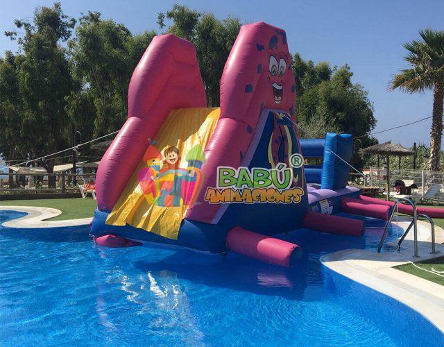 Un hinchable en tu piscina