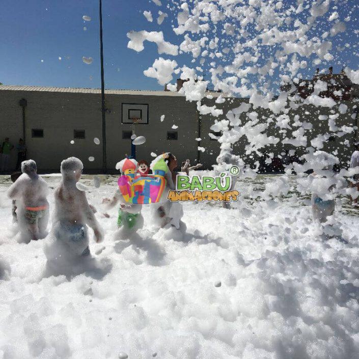 Fiesta de la Espuma. Alquiler en Alicante