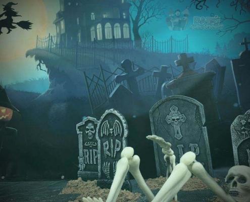 Lápidas Halloween