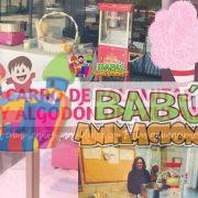 Alquiler de algodón de azúcar y carrito de palomitas en Alicante.