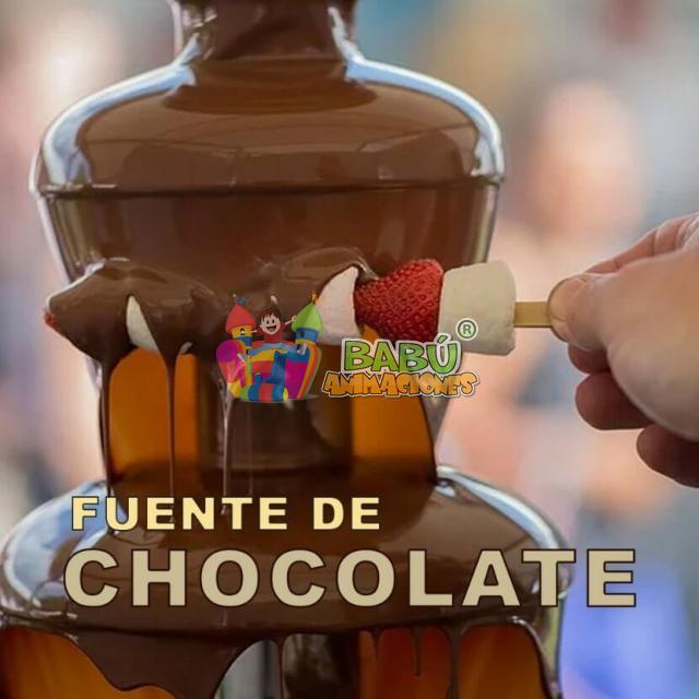 Fuente de chocolate para eventos