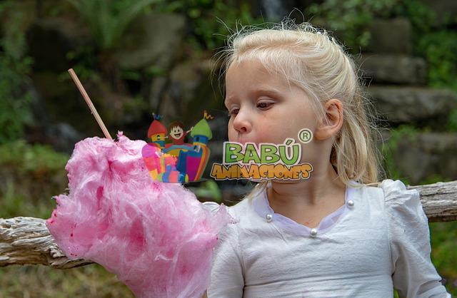 Algodón de azúcar para fiestas