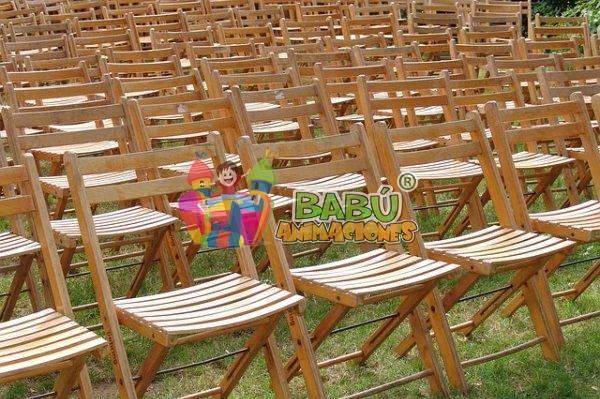 Alquiler de sillas para celebraciones