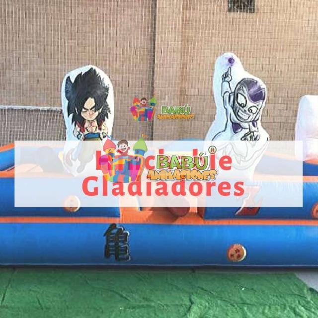 Hinchable Gladiadores Babu Animaciones