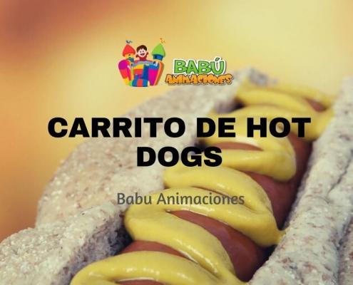 Carrito de Hot Dogs en Alicante
