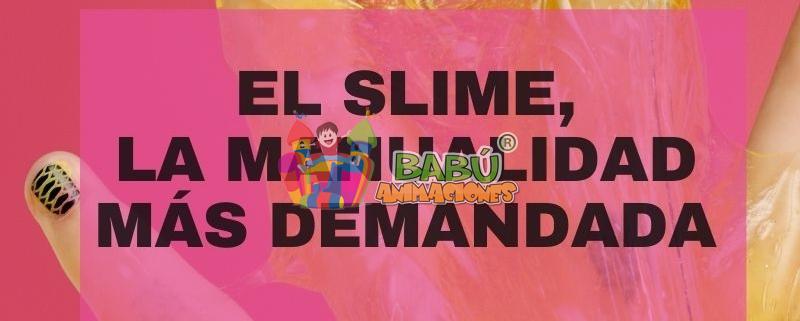 Slime, la manualidad más demandada.