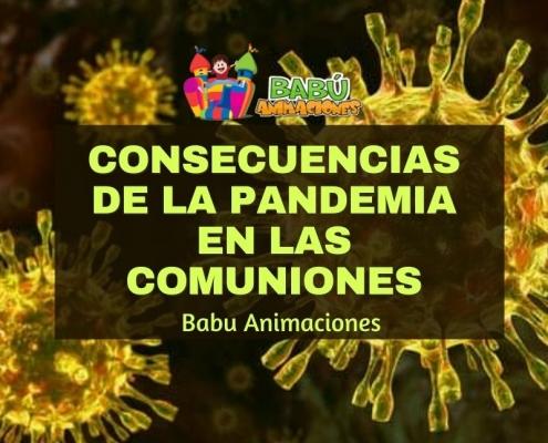Consecuencia de la pandemia en las comuniones más íntimas y austeras en 2021