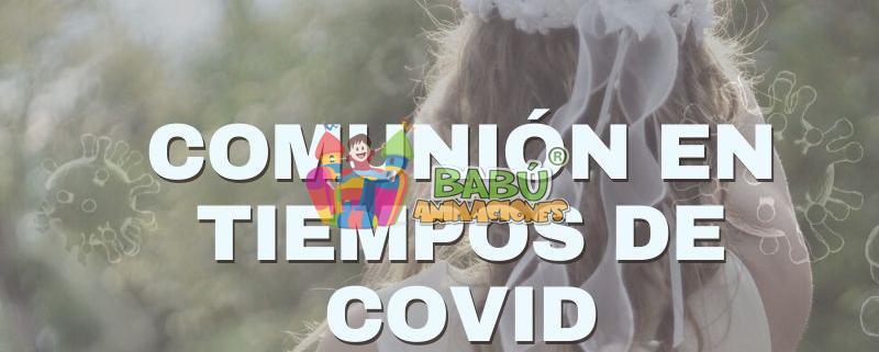 Comuniones en tiempos de Coronavirus